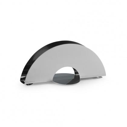 Салфетница «Полукруг» 150х70 мм Luxstahl [1133] - интернет-магазин КленМаркет.ру