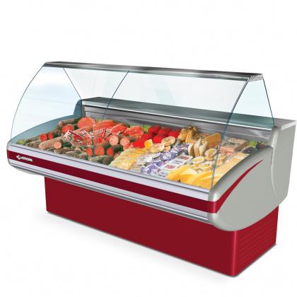 Витрина холодильная CRYSPI Gamma-2 1800 - интернет-магазин КленМаркет.ру