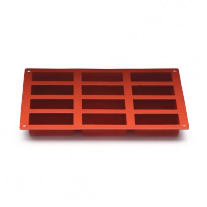 Форма для выпечки «Прямоугольники» 300х175 мм Silicon Flex [SF026/N] - интернет-магазин КленМаркет.ру