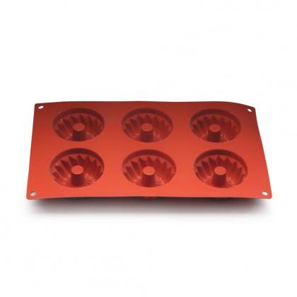 Форма для выпечки «Кекс» с отверстием 295х175 мм Silicon Flex [SF058/N] - интернет-магазин КленМаркет.ру