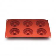 Форма для выпечки «Кекс» с отверстием 295х175 мм Silicon Flex [SF058/N]