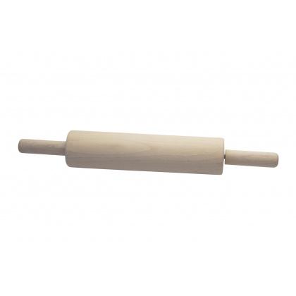 Скалка с вращающимися ручками 300х70 мм, бук - интернет-магазин КленМаркет.ру