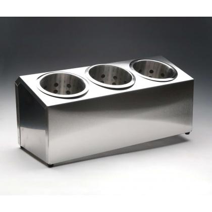 Контейнер для столовых приборов 3 ячейки [DLDC] - интернет-магазин КленМаркет.ру