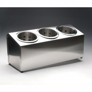Контейнер для столовых приборов 3 ячейки [DLDC]