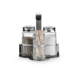 Набор для специй (соль, перец, зубочистки) [354-3] - интернет-магазин КленМаркет.ру