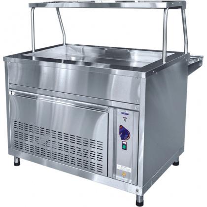 Прилавок холодильный ABAT «Аста» ПВВ-70КМ-03-НШ - интернет-магазин КленМаркет.ру