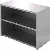 Полка-шкаф настенная открытая CRYSPI ПКПО 1500/400 (без дверей)