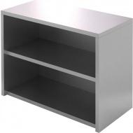 Полка-шкаф настенная открытая CRYSPI ПКПО 800/400 (без дверей)