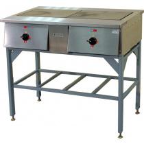 Плита электрическая ТУЛАТОРГТЕХНИКА ПЭ-0.24Н двухконфорочная без жарочного шкафа