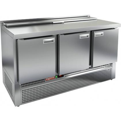 Стол охлаждаемый для салатов SLE2-111GN с крышкой - интернет-магазин КленМаркет.ру