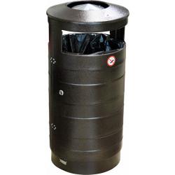 Урна для мусора уличная с пепельницей 440х800 мм - интернет-магазин КленМаркет.ру