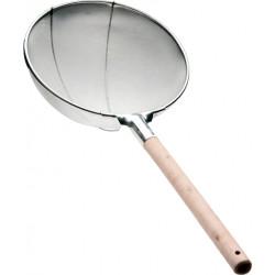 Сито 300 мм (мелкая сетка 1 мм) с деревянной ручкой [DT-Y1801-30] - интернет-магазин КленМаркет.ру