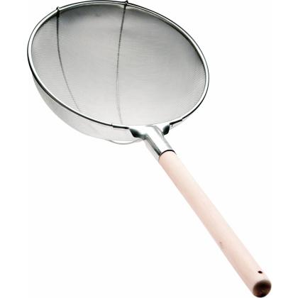Сито 350 мм (мелкая сетка 1 мм) с деревянной ручкой [DT-Y1801-35] - интернет-магазин КленМаркет.ру