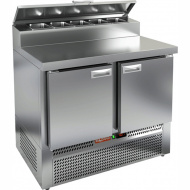 Стол охлаждаемый для пиццы HICOLD PZE2-11/GN (1/6H)