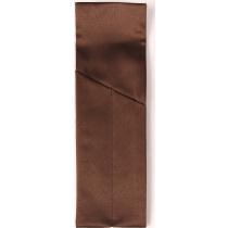 Конверт (куверт) на 2 прибора «Ричард» левый коричневый [08С6-КВ 1346]