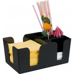 Диспенсер (салфетница с секциями) для бара [JW-BC ВС-0694] - интернет-магазин КленМаркет.ру