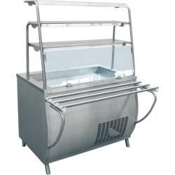 Прилавок-витрина холодильный ABAT «Премьер» ПВВ-70Т  - интернет-магазин КленМаркет.ру