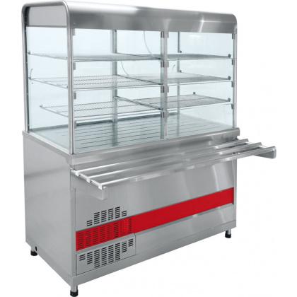 Прилавок-витрина холодильный ABAT «Аста» ПВВ-70КМ-С-01-ОК - интернет-магазин КленМаркет.ру