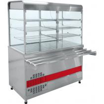 Прилавок-витрина холодильный ABAT «Аста» ПВВ-70КМ-С-01-ОК