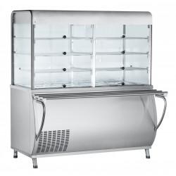 Прилавок-витрина холодильный ABAT «Патша» ПВВ(Н)-70М-С-НШ - интернет-магазин КленМаркет.ру
