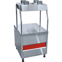 Прилавок для столовых приборов ABAT «Аста» ПСП-70КМ