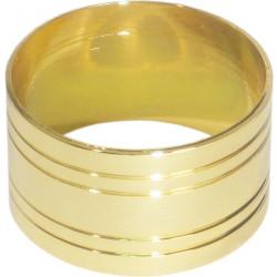 Кольцо для салфеток 42 мм золото [DS-С19] - интернет-магазин КленМаркет.ру