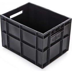 Ящик 400х300х280 мм сплошной, финпак (для пакетов с молоком), ПЭНД - интернет-магазин КленМаркет.ру