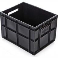 Ящик 400х300х280 мм сплошной, финпак (для пакетов с молоком), ПЭНД