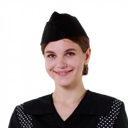 Пилотка черная [014] - интернет-магазин КленМаркет.ру