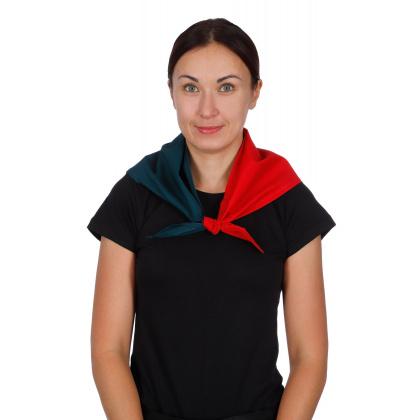 Косынка поварская трехцветная [021] - интернет-магазин КленМаркет.ру