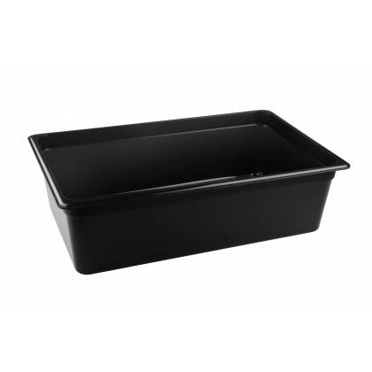 Гастроемкость из полипропилена без крышки GN 1/1 530х325х150 мм черная [422100213] - интернет-магазин КленМаркет.ру