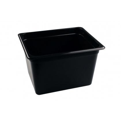 Гастроемкость из полипропилена без крышки GN 1/2 325х265х200 мм черная [422100813] - интернет-магазин КленМаркет.ру