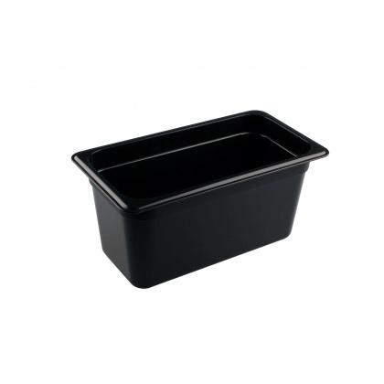 Гастроемкость из полипропилена без крышки GN 1/3 325х176х150 мм черная [422101213] - интернет-магазин КленМаркет.ру