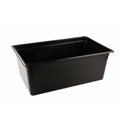 Гастроемкость из полипропилена без крышки GN 1/1 530х325х200 мм черная [422100313] - интернет-магазин КленМаркет.ру