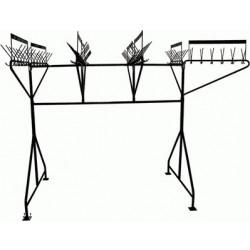 Вешалка гардеробная М163-01 (96 крючков на одном уровне) - интернет-магазин КленМаркет.ру