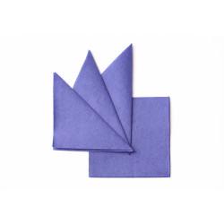 Салфетка бумажная синяя 240х240 мм 400 шт  - интернет-магазин КленМаркет.ру
