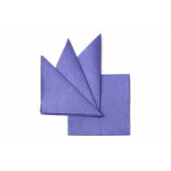 Салфетка бумажная синяя 330х330 мм 300 шт