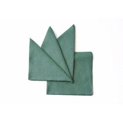 Салфетка бумажная зеленая 240х240 мм 400 шт - интернет-магазин КленМаркет.ру