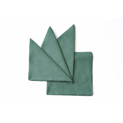 Салфетка бумажная зеленая 330х330 мм 300 шт - интернет-магазин КленМаркет.ру