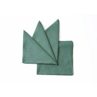 Салфетка бумажная зеленая 240х240 мм 400 шт