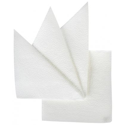 Салфетка бумажная белая 240х240 мм 400 шт - интернет-магазин КленМаркет.ру