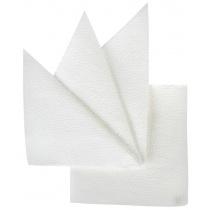 Салфетка бумажная белая 240х240 мм 400 шт