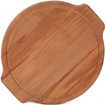 Доска для пиццы и стейка 340-350х20 мм бук