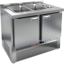 Стол охлаждаемый для салатов SLE3-11GN без крышки