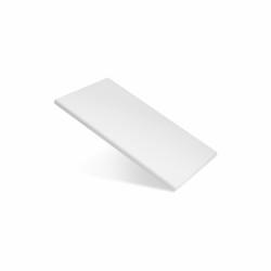 Доска разделочная 250х150х10 мм белый полипропилен - интернет-магазин КленМаркет.ру