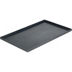 Противень из черного металла 600х400 мм - интернет-магазин КленМаркет.ру