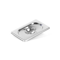 Крышка Luxstahl из нержавеющей стали для GN 1/9 [819-L] - интернет-магазин КленМаркет.ру
