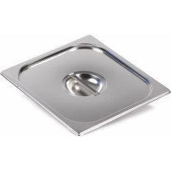 Крышка Luxstahl из нержавеющей стали для GN 2/3 [823-L] - интернет-магазин КленМаркет.ру