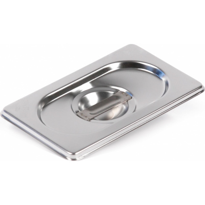 Крышка Luxstahl из нержавеющей стали для GN 1/12 [8112-L] - интернет-магазин КленМаркет.ру