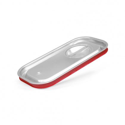 Крышка Luxstahl из нержавеющей стали с уплотнителем для GN 1/3 [813-LRP] - интернет-магазин КленМаркет.ру